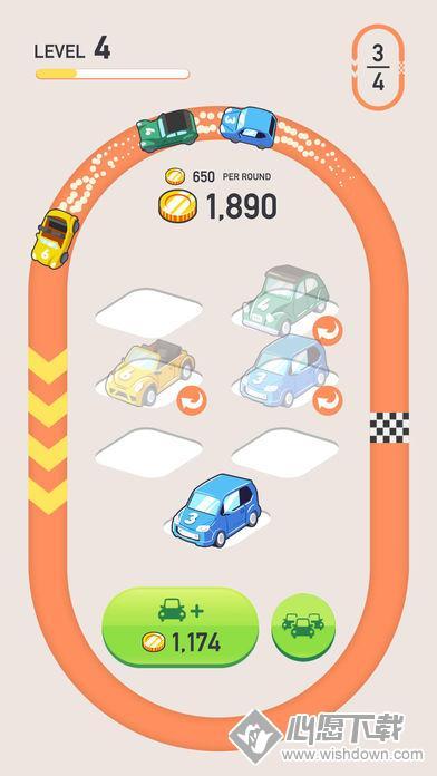 汽车合并V1.0 苹果版_wishdown.com