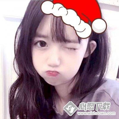 在线给你的头像加个圣诞帽子_wishdown.com