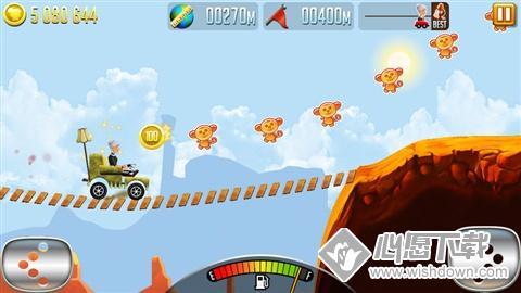 愤怒的老奶奶赛车V1.5.0 苹果版_wishdown.com
