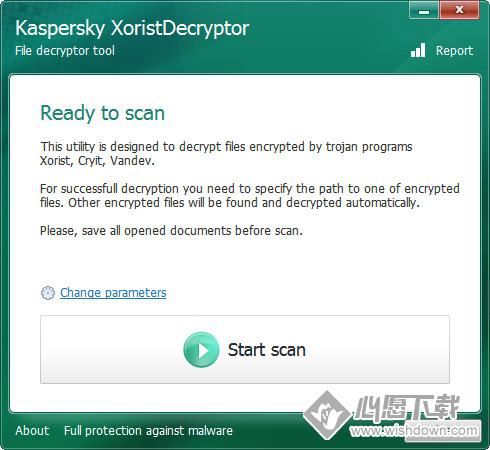XoristDecryptorV2.3.44.0 电脑绿色版_wishdown.com