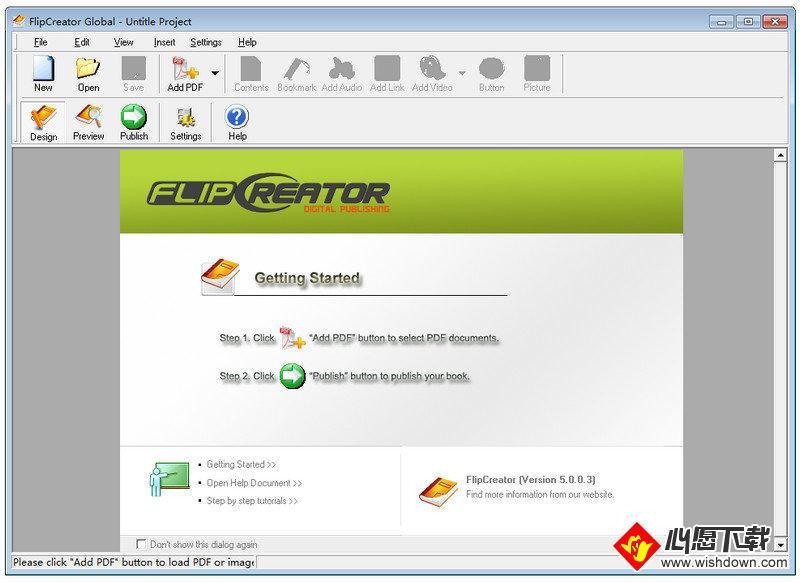 Alive Software FlipCreator(电子书刊制作软件)_wishdown.com