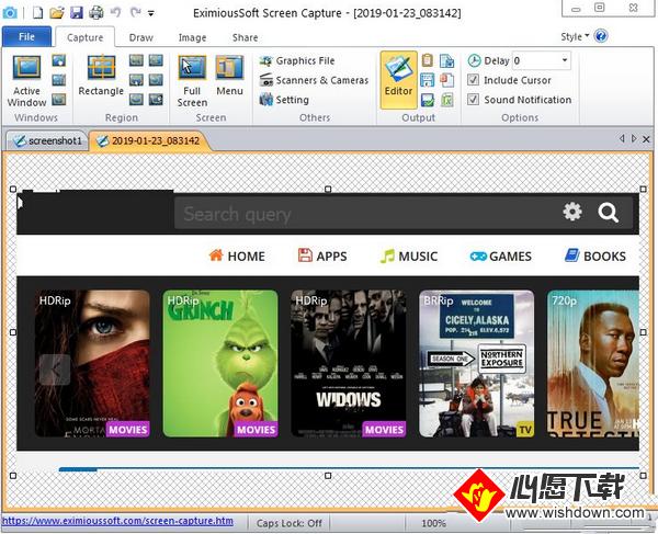 EximiousSoft Screen Capture_wishdown.com