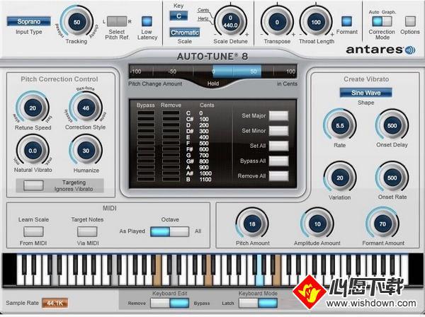 Auto Tune(修音插件)_wishdown.com