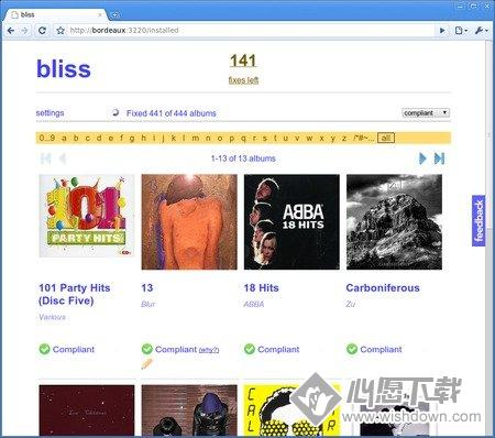 Elsten Software Bliss(音乐管理软件)_wishdown.com