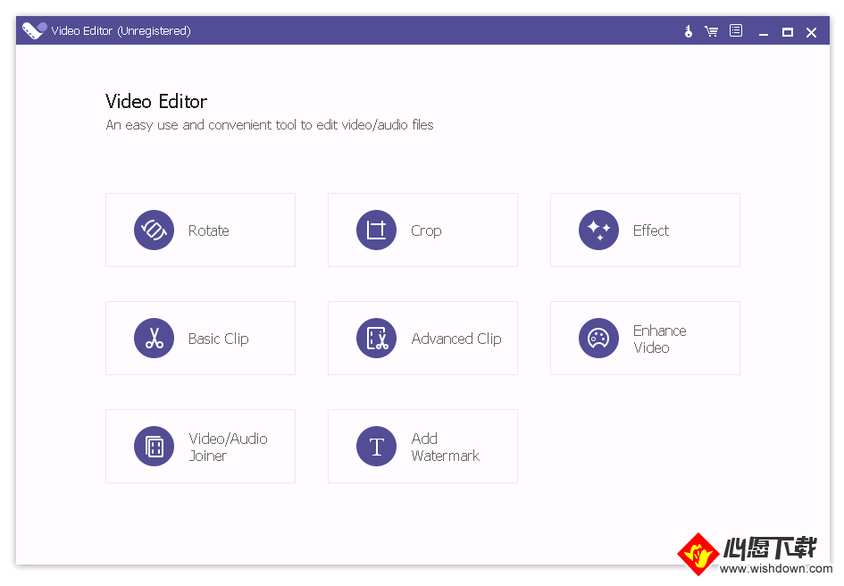 Apeaksoft Studio Video Editorr(视频编辑软件)_wishdown.com