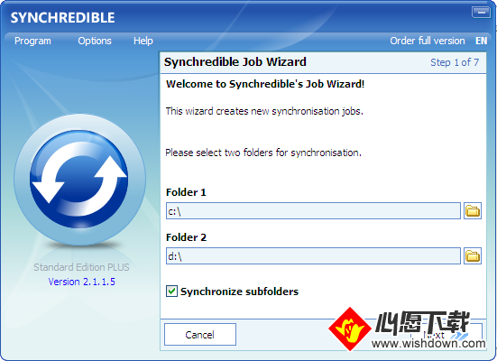 Synchredible(数据同步工具)_wishdown.com