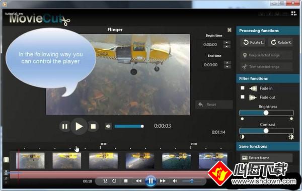 Abelssoft MovieCut(视频剪辑软件)_wishdown.com