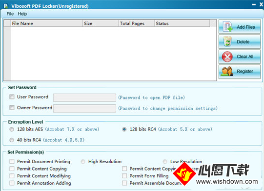 Vibosoft PDF Locker(PDF加密软件)_wishdown.com