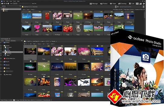 ACDSee Photo Studio Ultimate(RAW编辑器)_wishdown.com
