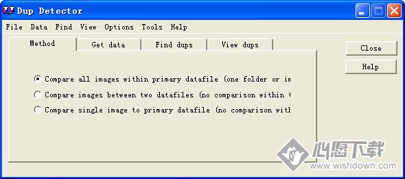 Dup Detector(重复图像文件查询工具)_wishdown.com