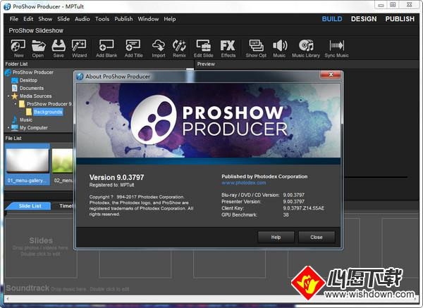 Photodex Proshow producer(电子相册制作软件)_wishdown.com