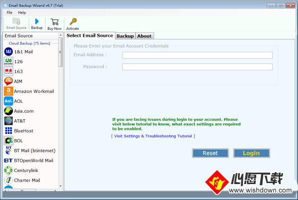 ZOOK Email Backup Wizard(超级电子邮件备份助手)_wishdown.com