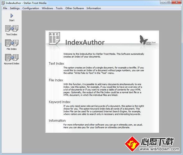 Index Author(文档索引软件)_wishdown.com