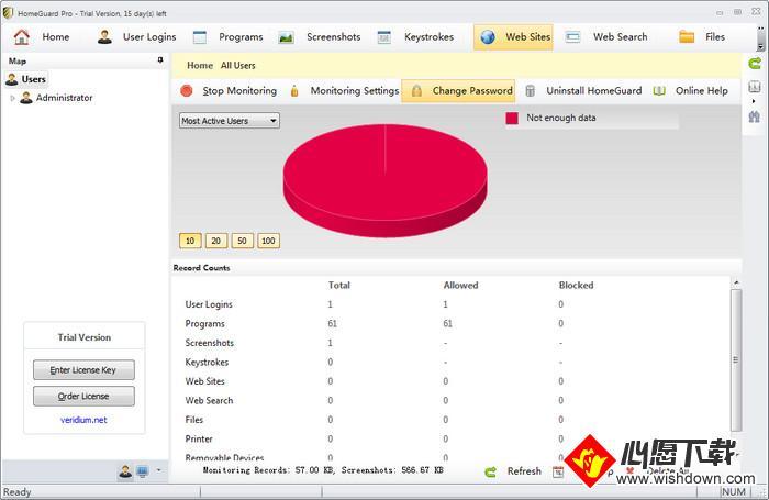 HomeGuard Pro(系统监控软件)_wishdown.com