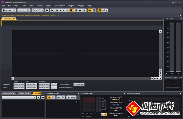 Acoustica Premium Edition(高级音频处理软件)_www.rkdy.net