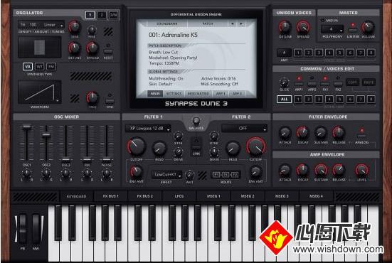 Synapse Audio DUNE(音频合成工具)_wishdown.com