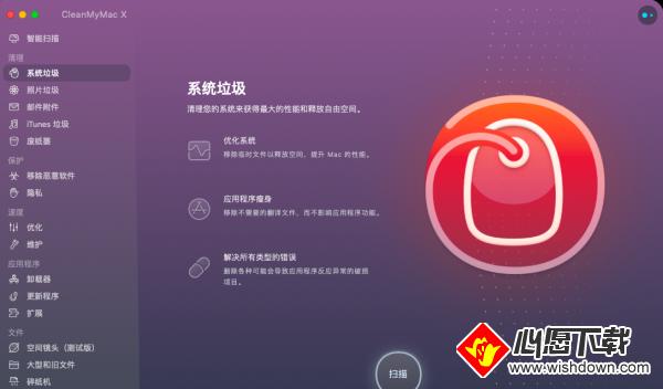 CleanMyMac X_wishdown.com