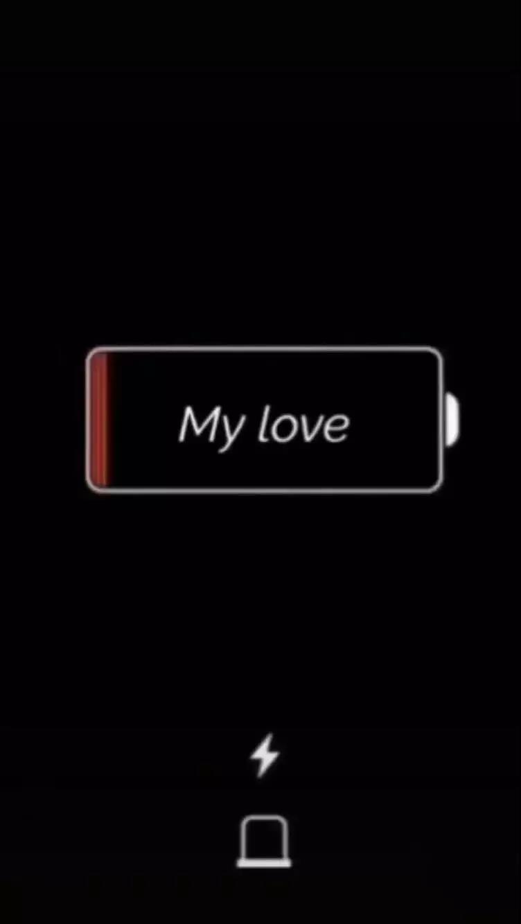 抖音给爱心充电的锁屏壁纸分享