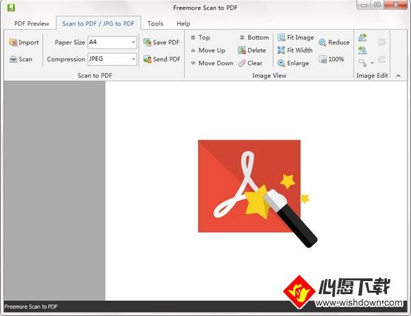 Freemore Scan to PDF(扫描转PDF软件)_wishdown.com