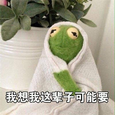 2019微信朋友圈绿青蛙头像大全图片