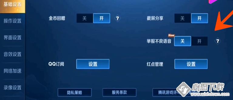 王者荣耀怎么举报不良语音?_wishdown.com