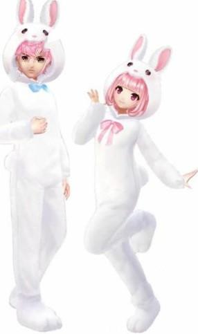 QQ飞车手游绒绒白兔套装怎么获得?