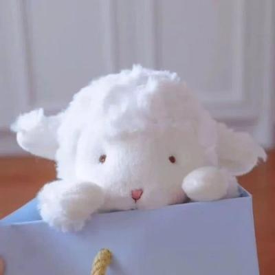 抖音网红毛绒小羊头像大全_wishdown.com