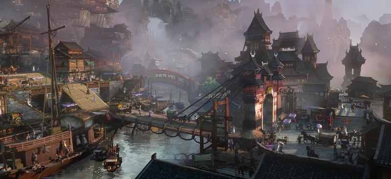 在这里,你将获得极致的3D仙侠游戏体验!-《梦回仙境》