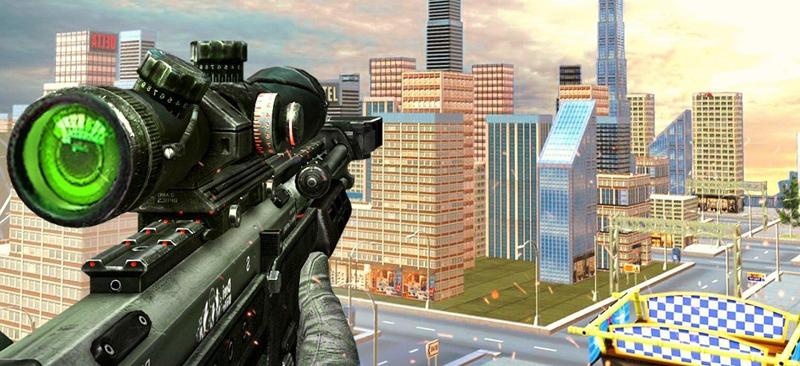 3D真实风狙击枪战游戏-《城市狙击场》