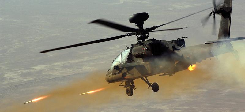 武装直升机空中支援3D