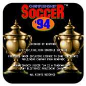 冠军足球赛94 美版