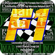 F1世界锦标赛 MD版