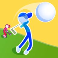 高尔夫赛跑