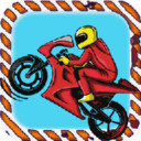 勇敢的摩托�手
