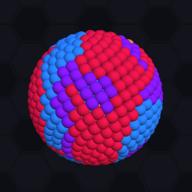 彩球填色3D