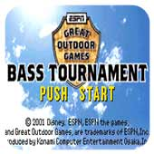 ESPN户外运动 巴斯钓鱼2002 欧版