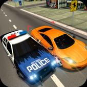 警车赛车游戏