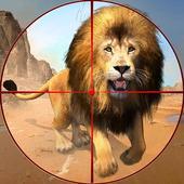 野生动物狙击手狩猎