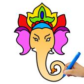 象头神绘画