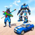 大老鼠机器人改造汽车大战射击机器人 免费版
