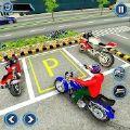 美国摩托车停车越野驾驶
