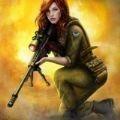 狙击战士射击