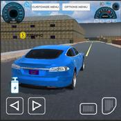 特斯拉汽车驾驶模拟