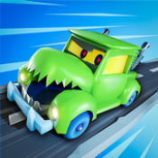 汽车吃汽车3D