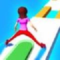 轮滑姑娘向前冲
