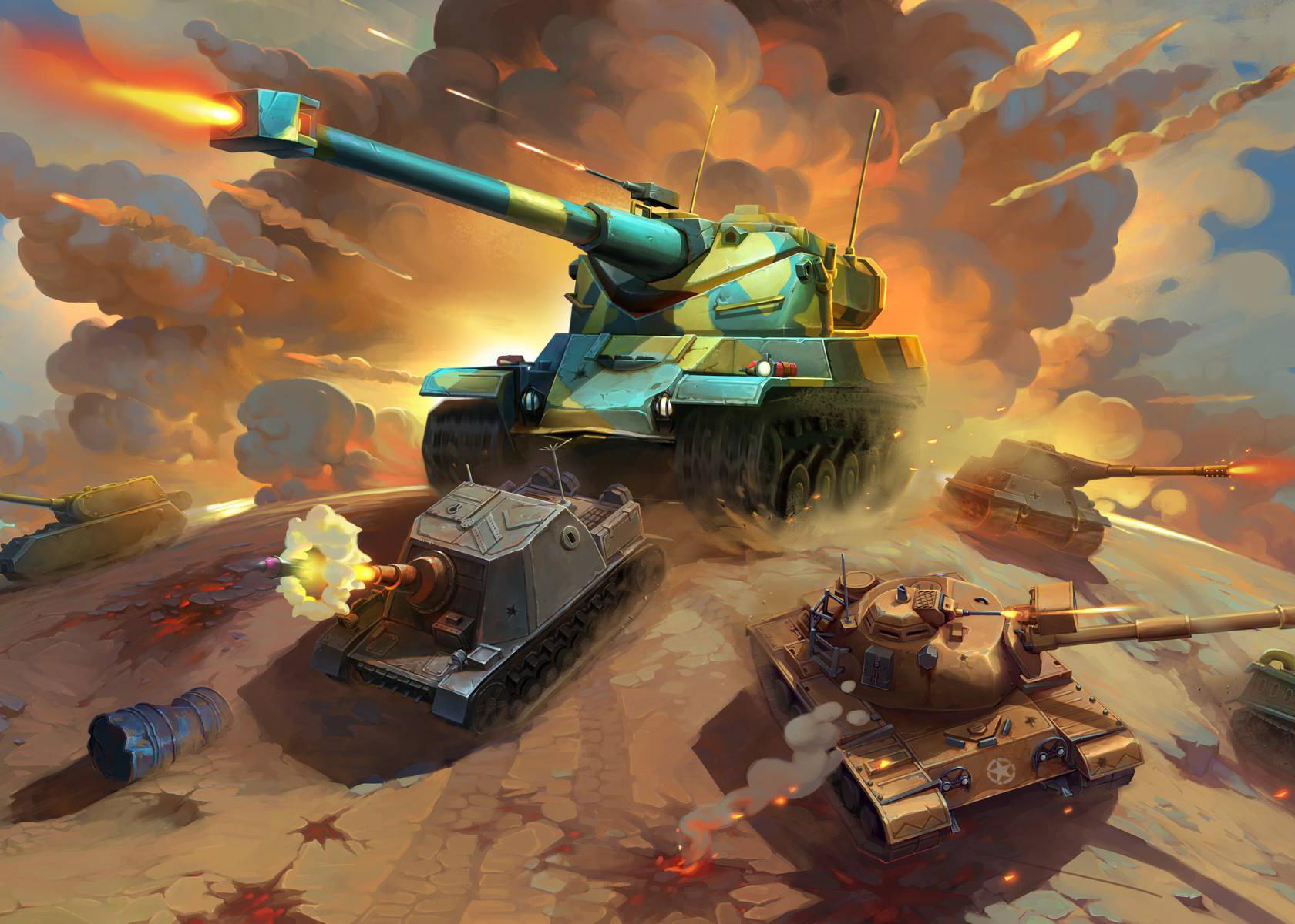 坦克大战游戏大全